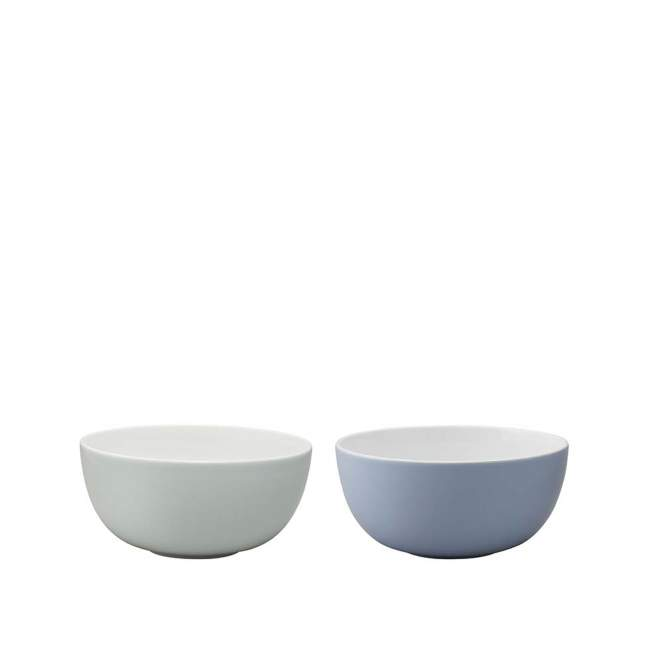 2 miseczki Stelton Emma Ø 17,5 cm, blue