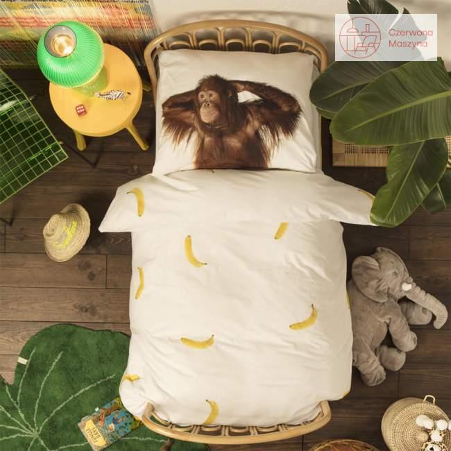 Pościel Snurk Banana Monkey 135 x 200 cm