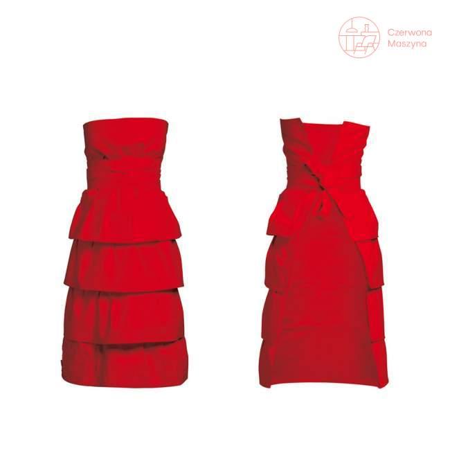 Fartuch COOKie Carla 34-44, czerwony