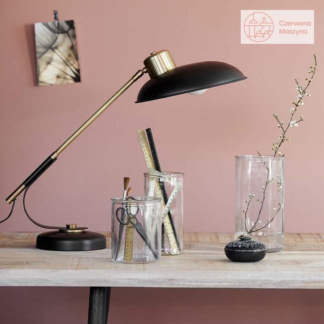 Lampa na biurko House Doctor Art deco, black