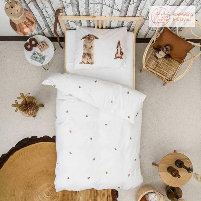 Pościel Snurk Furry Friends 135 x 200 cm