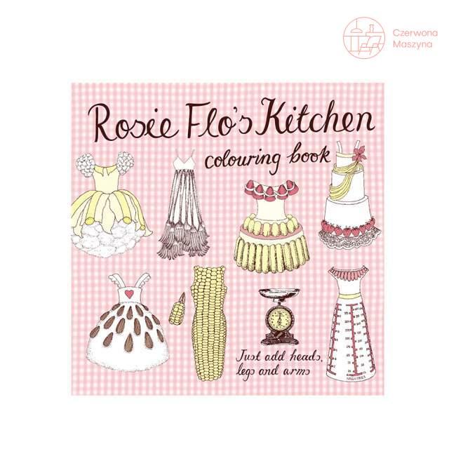 """Książeczka - kolorowanka Rosie Flo """"Kitchen"""""""