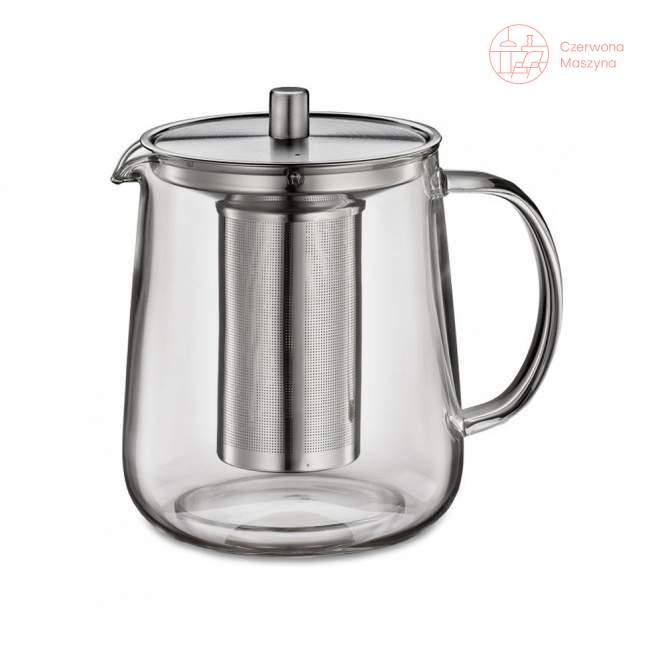 Dzbanek na herbatę z zaparzaczem Küchenprofi Assam 1 L, srebrny
