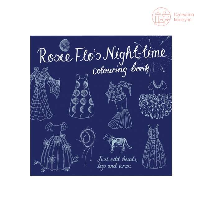 """Książeczka - kolorowanka Rosie Flo """"Night-time"""""""