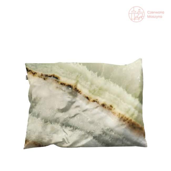 Poszewka dekoracyjna na poduszkę Snurk Macro Mineral 35 x 50 cm, zielona