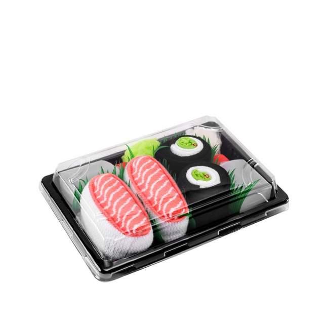 Skarpetki Rainbow Socks, sushi - łosoś, maki ogórek 41-46 (L), Kto to kupi