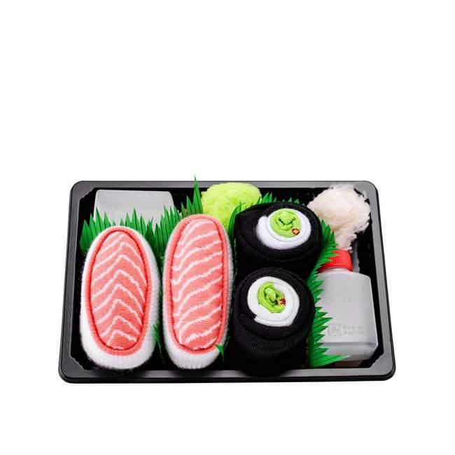 Skarpetki Rainbow Socks, sushi - łosoś, maki ogórek 36-40 (S), Kto to kupi