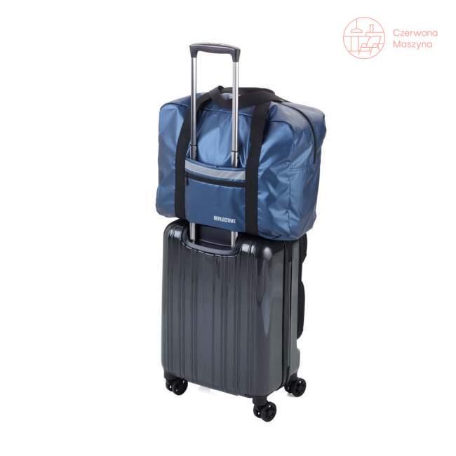 Torba podróżna Troika Travel Pack Reflective 24 l, niebieski/srebrny