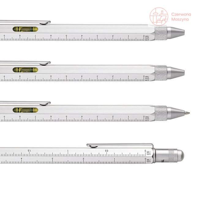 Długopis i linijka w etui Troika Construction Set