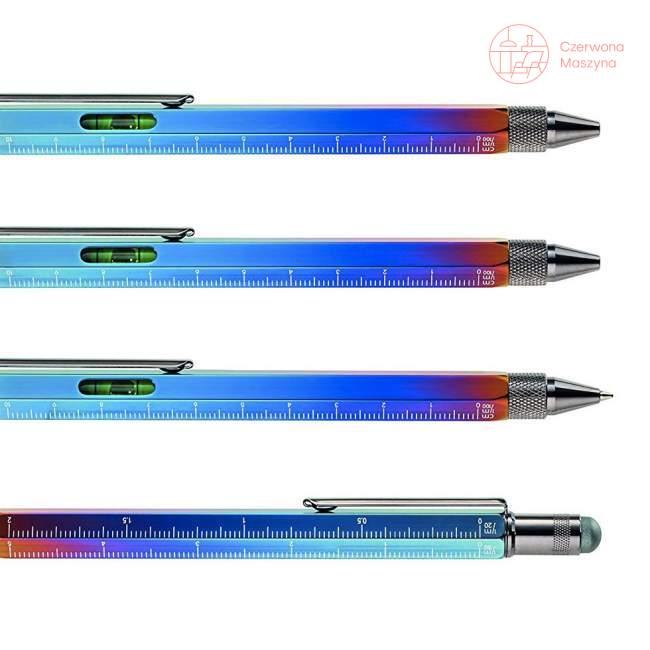 Długopis wielozadaniowy Troika Construction Spectrum, multikolor