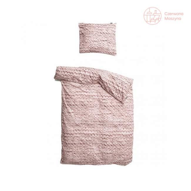 Pościel Snurk Twirre cotton, różowa 135 x 200 cm