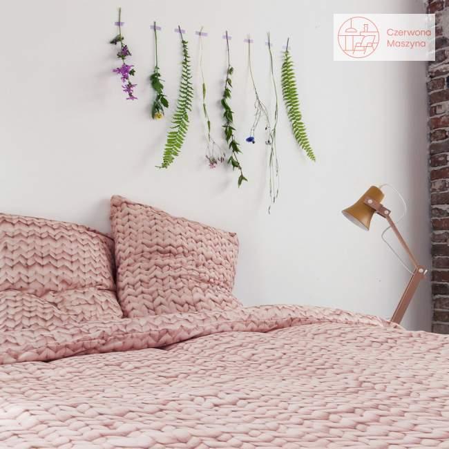 Pościel Snurk Twirre cotton, różowa 200 x 200 cm