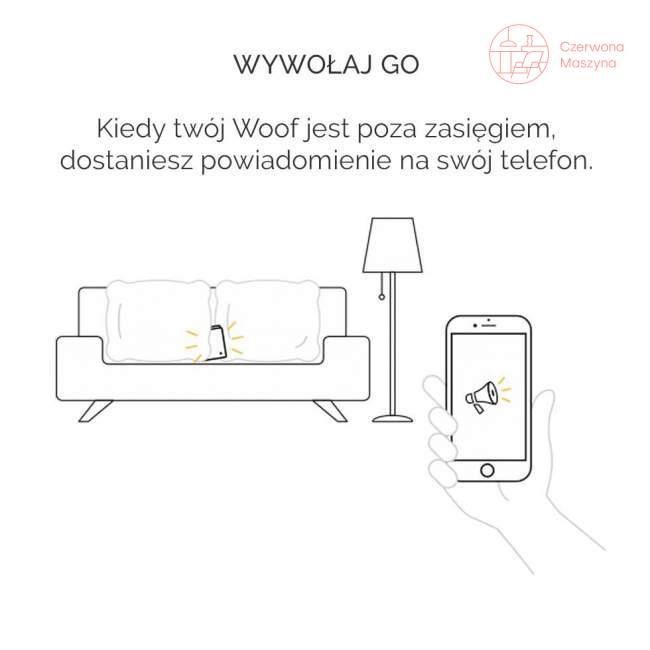 Woolet Woof Glow inteligentny portfel, czarny Kto to kupi