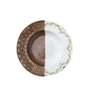 Talerz obiadowy Seletti Hybrid Malao Ø 25,4 cm