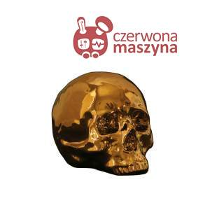 Figurka Seletti Memorabilia Gold Czaszka