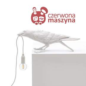 Lampa Seletti Bird Playing, biała