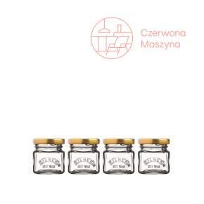 Zestaw 4 minisłoiczków Kilner Mini Jars 0,055 l