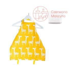 Fartuszek i czapka kucharska Zuzu Toys Żółte Żyrafy 5-6 lat