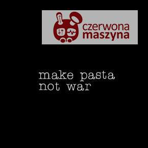 Neon Seletti MAKE PASTA NOT WAR