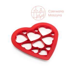 Forma do wykrawania ciastek Lékué Puzzle Hearts