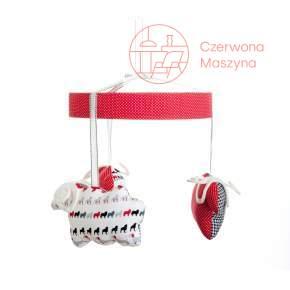 Karuzela Zuzu Toys Barany biało-czarno-czerwone