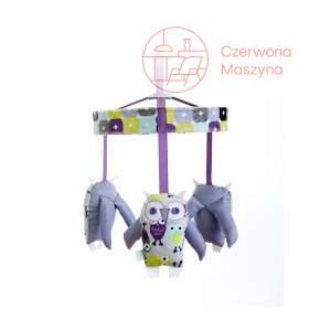 Karuzela Zuzu Toys Sowy fioletowe