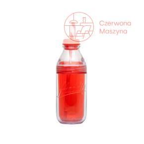Butelka ze słomką Aladdin 470 ml, czerwona