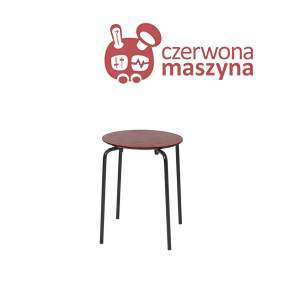 Taboret / stołek ferm Living Herman, Red Brown
