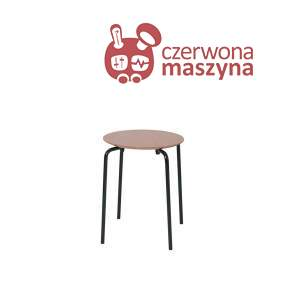 Taboret / stołek ferm Living Herman, Dark Rose