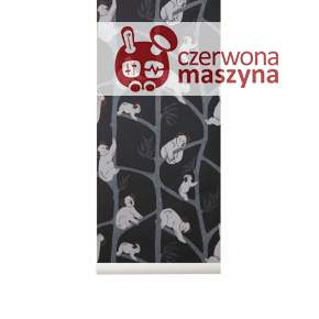 Tapeta ferm LIVING Koala Wallpaper, dark green