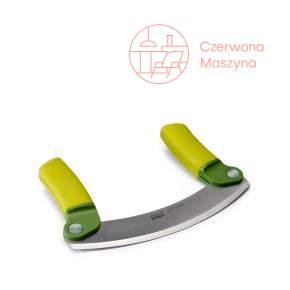 Nóż do ziół Joseph Joseph Mezzaluna zielony