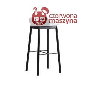 Krzesło barowe Woud Mono 65 cm, czarne