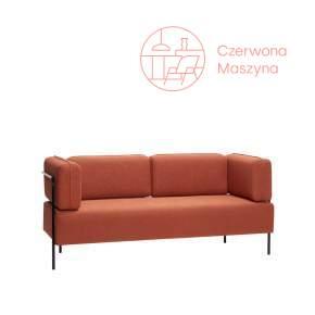 Sofa 4-osobowa Hübsch, brown/black
