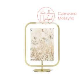 Ramka na zdjęcia Umbra Infinity Sqround 13x18 cm, brass