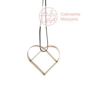 Zawieszka świąteczna Stelton Figura Serce 5 cm