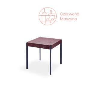 Kwadratowy stół Skagerak Gerda 75 cm Dark Red & Dark Blue