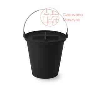 Kosz na śmieci Authentics H2O - 13 l, czarny
