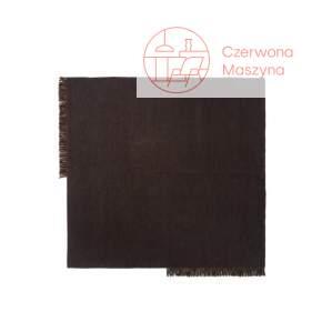 Dywan ferm LIVING Kelim 240 x 240 cm, dark melange