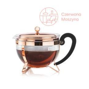 Zaparzacz tłokowy do herbaty Bodum Chambord 1,3 L miedziany