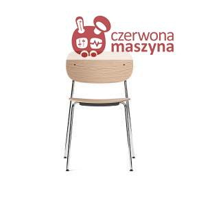 Krzesło Menu Co Chair, Chrome/Natural Oak