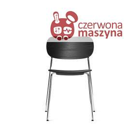 Krzesło Menu Co Chair, Chrome/Black Oak