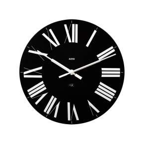 Zegar ścienny Alessi Firenze Ø 36 cm, czarny