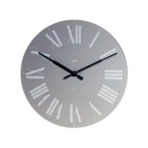 Zegar ścienny Alessi Firenze Ø 36 cm, szary