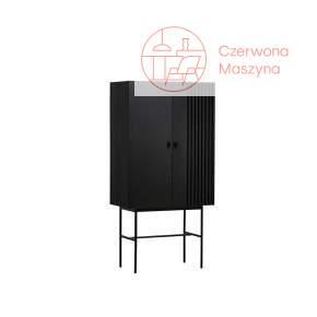 Szafka Woud Array 80 cm, czarna