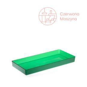 Pojemnik na akcesoria łazienkowe Authentics Kali 3 cm, transparentne zielone