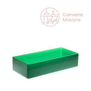 Pojemnik na akcesoria łazienkowe Authentics Kali 6 cm, transparentne zielone