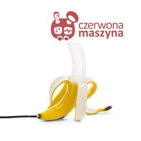 Lampa stołowa Seletti Banana Louie, yellow