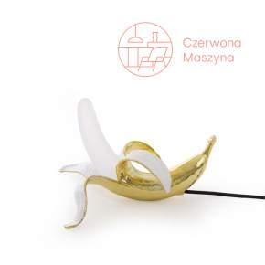 Lampa stołowa Seletti Banana Dewey, złota