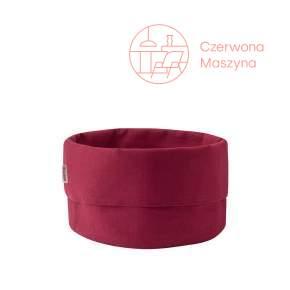 Koszyk bawełniany na pieczywo Stelton, Warm Maroon