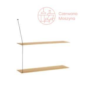 Półka Woud Stedge 2.0 80 cm, jasne drewno